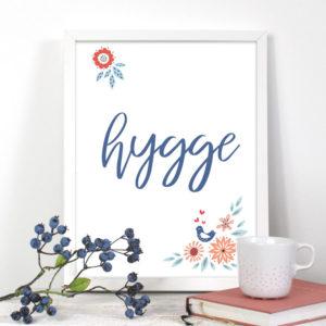 Poster Hygge